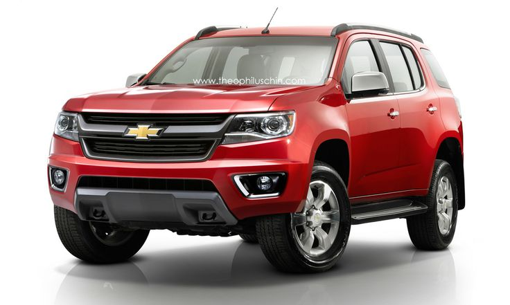 Chevy Reaper Price >> 2016 Chevrolet TrailBlazer concept | Conceptual design ...