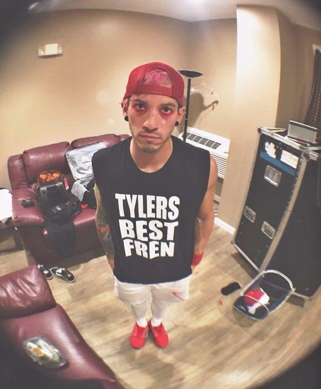 It matches Tylers sweatshirt