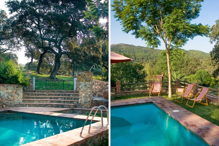 One of six stone cottages in a rural area of Andalusia, this residence sleeps 4 and is a wonderful spot for sun worshippers and families alike.