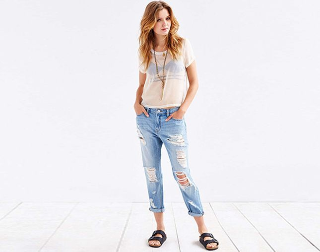 16 Rockin' Pairs of Boyfriend Jeans Under $100