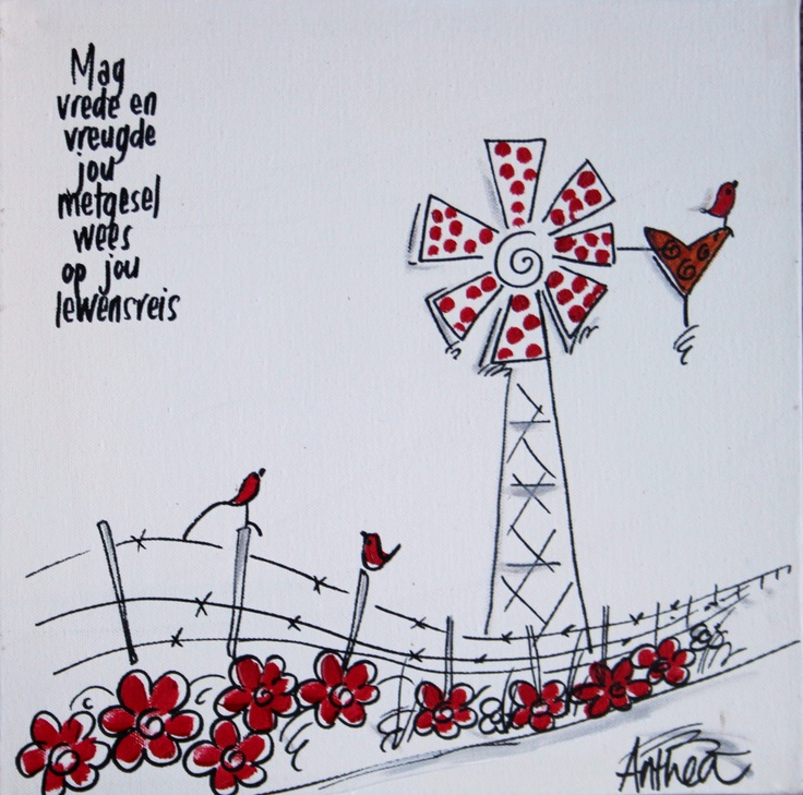 Vrede en Vreugde deur Anthea Art __[AntheaKlopper/FB] #BesteWense #windpomp