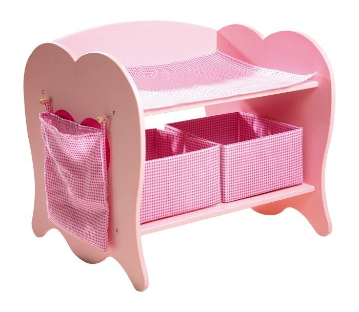 Houten poppen commode