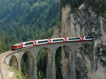 14 of the most scenic rail routes in all of Europe + other lists (10 Truths about ... has some helpful tips for first time Eurail travelers)