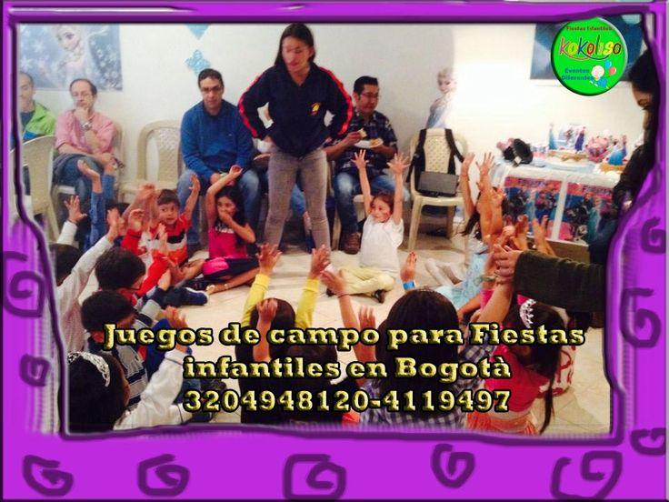 Hacemos las mejores fiestas infantiles con juegos de campo y excelentes recreadores llamanos al 3204948120-4119497 http://goo.gl/Xzbl12