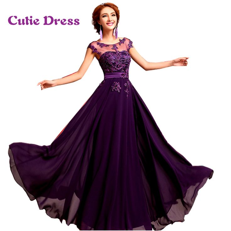 Floor Length Chiffon Long Evening Dress Gown 2016 New Fashion Formal Dresses Free Shipping-in Evening Dresses from Weddings & Events on Aliexpress.com | Alibaba Group