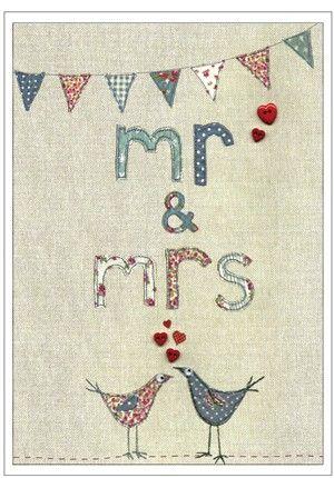 mr & mrs (large card)