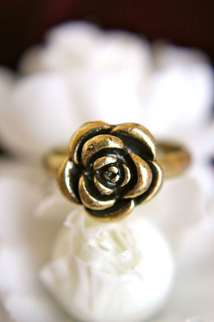 Vintage Rose Ring  best website for inexpensive jewelry!