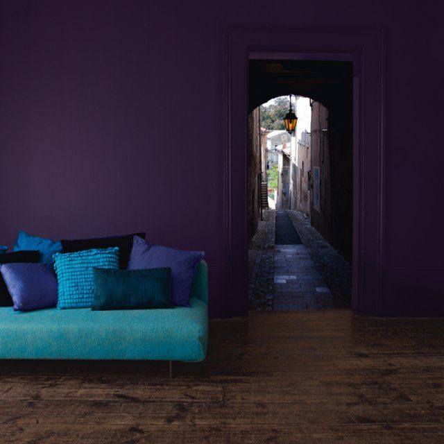 39 best purple and turquoise teal bedroom images on - Salon bleu turquoise ...