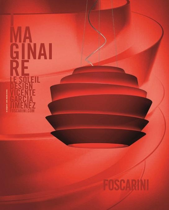 #Soleil #Foscarini #Press - Adv DesignWork Ph Massimo Gardone
