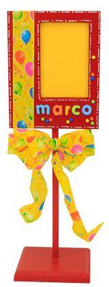 Portarretrato / Marco de madera / para fiestas infantiles