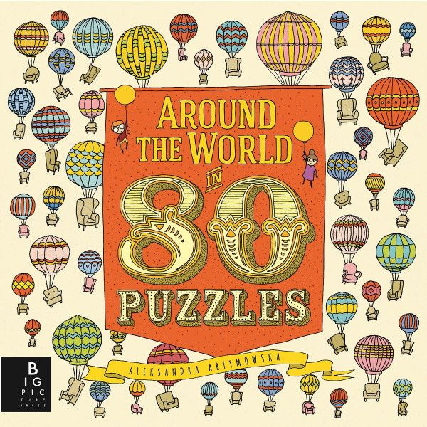 Around The World In 80 Puzzles Book | Australian Geographic Shop Online