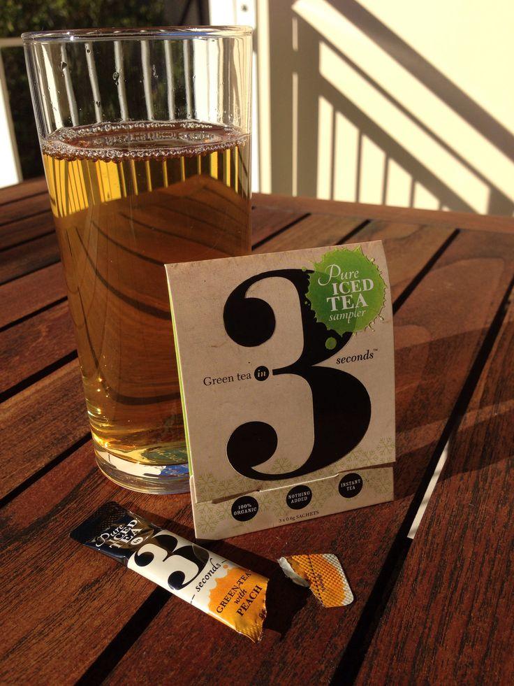 Green tea in 3 at Noosa... Morning boost :-)