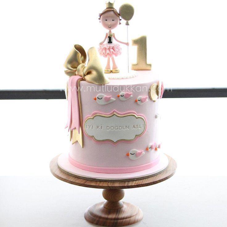 Princess #mutludukkan #sekerhamuru #butikpasta #sugarart