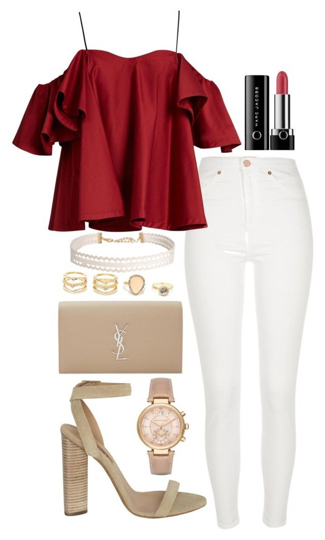 """"""""""" by biancamarie17 on Polyvore featuring River Island, Anna October, adidas Originals, Yves Saint Laurent, LULUS, Michael Kors, Humble Chic and Marc Jacobs"""