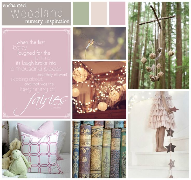 enchanted forest nursery theme - Google Search