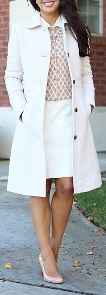 Wish our temperature was suitable for trench coats. Love the look of it