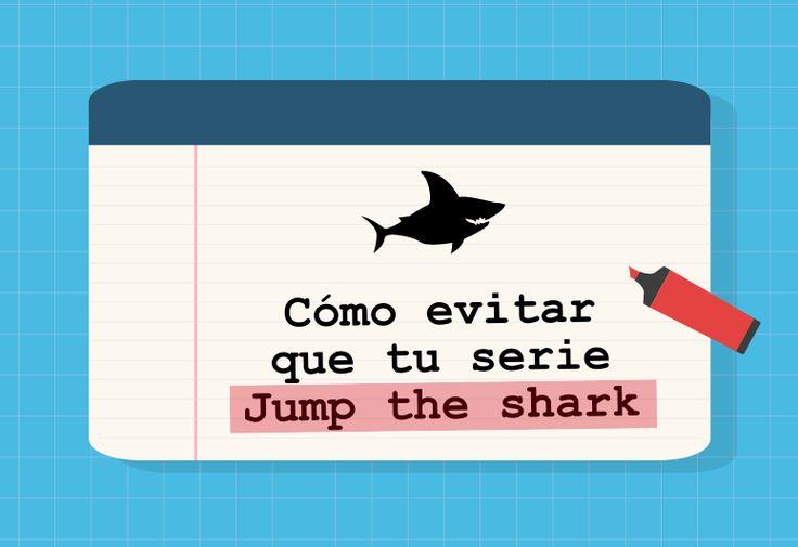 Podcast que explica qué es Jump the shark y cómo evitar que tu serie Jump the shark.