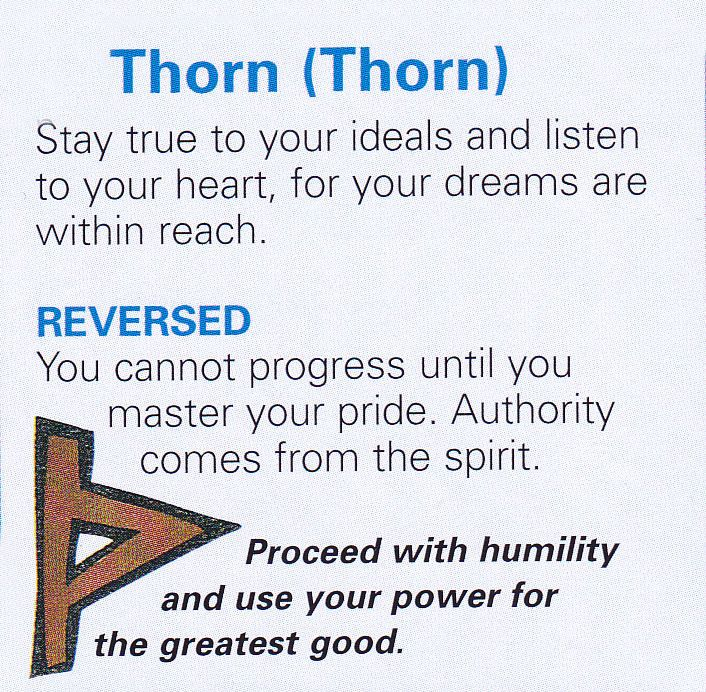 Thurisaz meaning