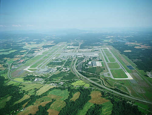 Oslo Airport (OSL).  I'd love to fly in here one day to visit one of my besties