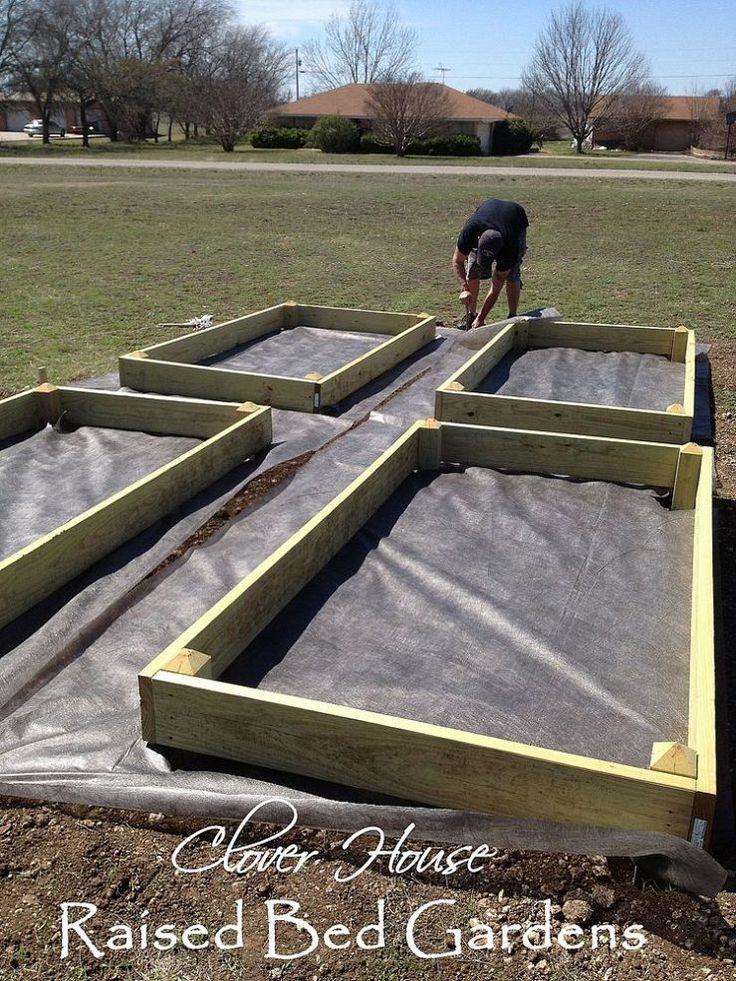 How Build Raised Vegetable Garden