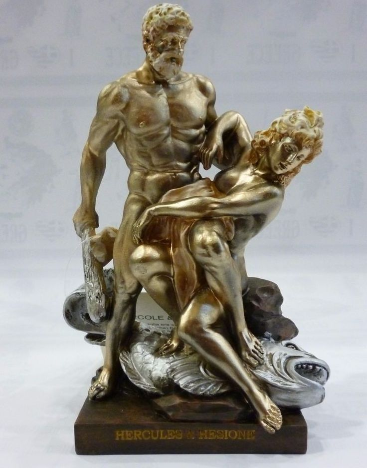 Ancient Greek Mythology Hercules And Hesione Statue
