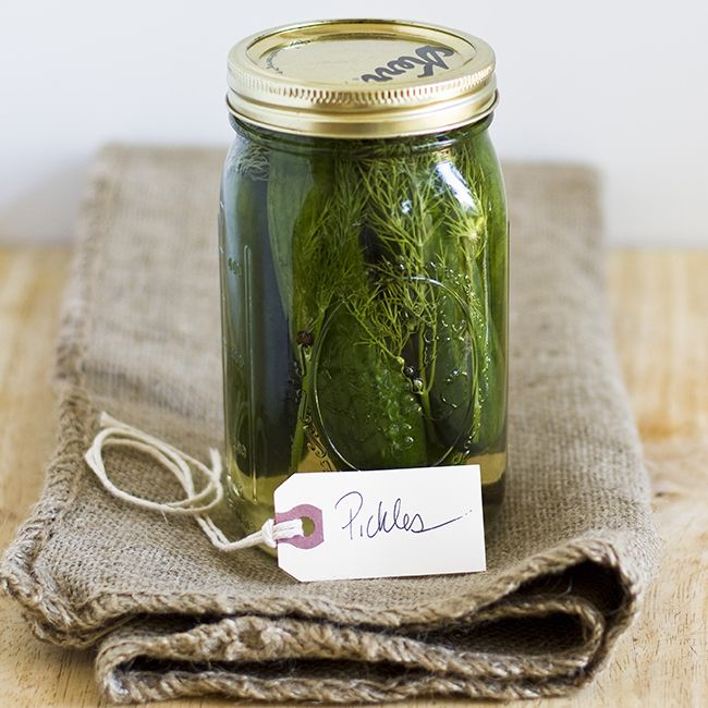 Homemade Pickles | Maker Crate