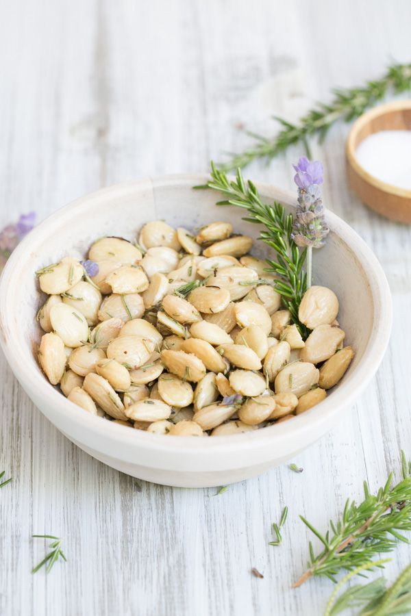 Perfect Appetizer: Lavender, Rosemary & Sea Salt Marcona Almonds