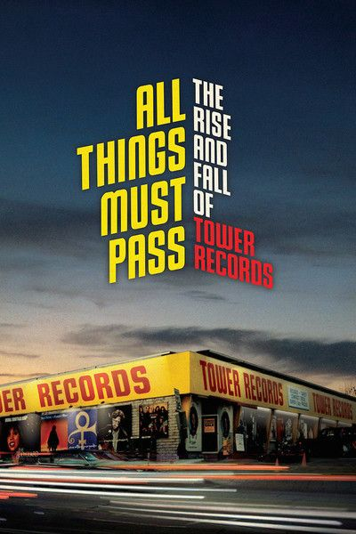 all things must pass: the rise and fall of tower records : [2015] tower was a big part of my world and its demise was felt by a generation of buyers who went through various formats (cassettes, record, laser dics, mini discs then cds). what a treat to walk into the shibuya tower records to see it thriving!