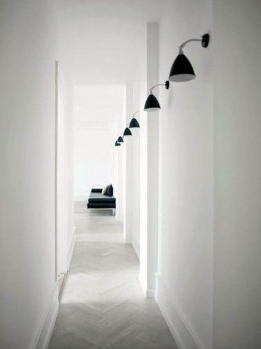 31 best couloir images on Pinterest Hallways, Stairs and Home decor - idee couleur couloir entree