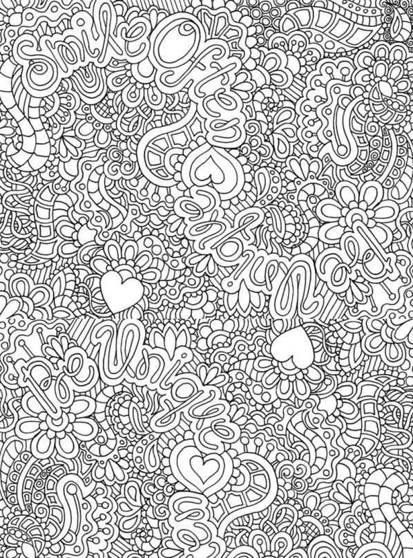 The 449 Best Adult Coloring Pages Images On Pinterest