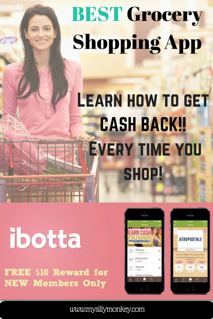 Best Grocery Shopping App, grocery cash back app, rebate apps, ibotta
