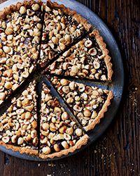Food and Wine Magazine | Chocolate-Hazelnut Tart Recipe