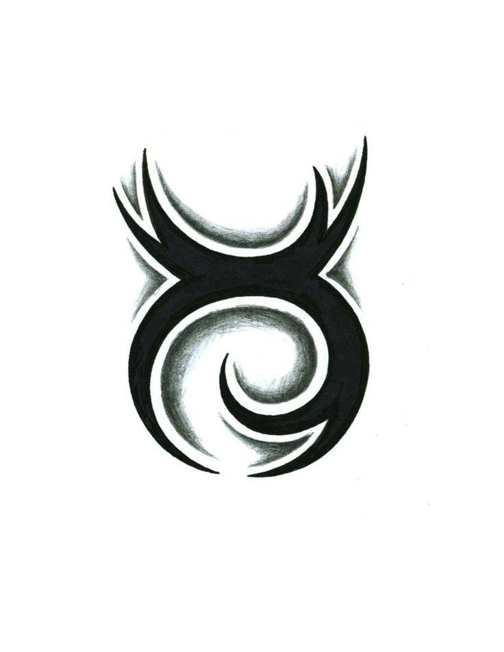 tribal Taurus tattoo