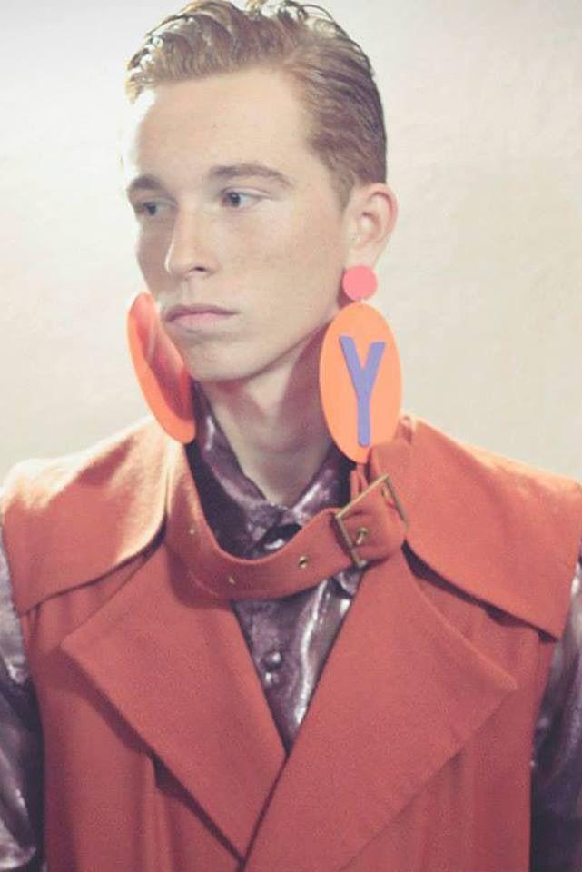 Earrings by Inmaculada Vergara for Anel Yaos  Valencia Fashion Week '14