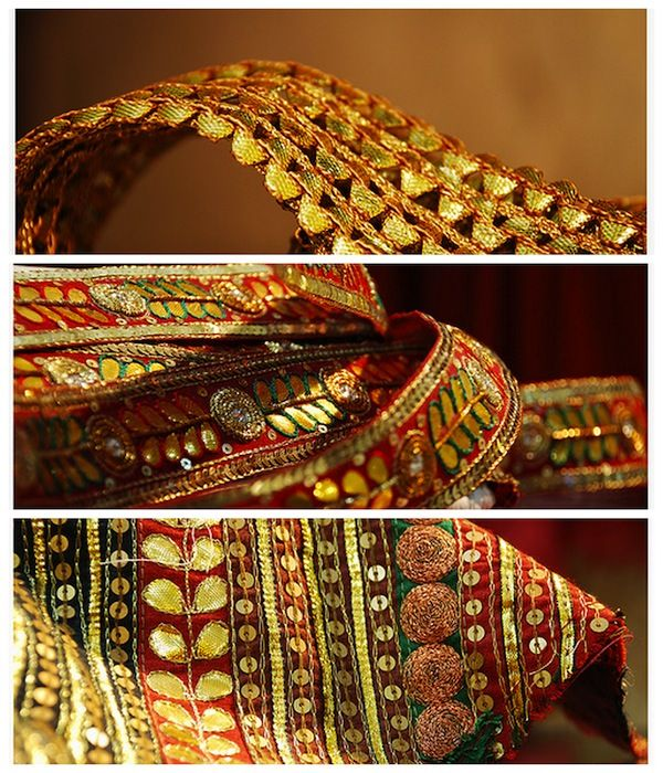 Gota Embroidery Found Its Origin In Rajasthan And Lent Its Glorious And Surreal Designs To ...