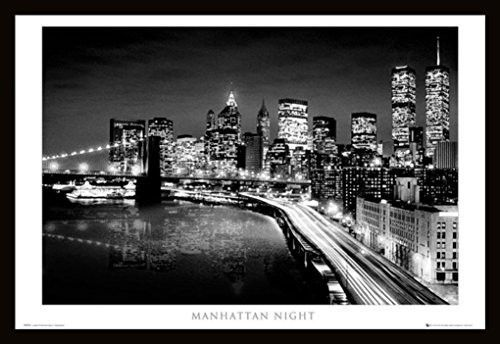 Manhattan Night (24x36) - BAW90009