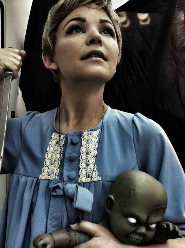 Pretty sure this is my costume, perfect for my hair! Rosemary's Baby | 22 Halloween Costumes Inspired By The 1960s