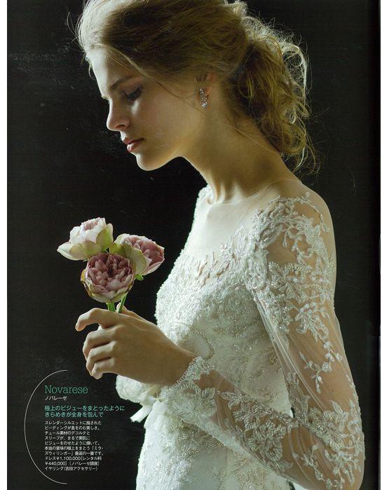 #NOVARESE #25ansウエディング #wedding #dress #flower #wedding dress #Mira Zwillinger  #Angelina #ノバレーゼ #ウエディング #ウエディングドレス #ミラ・ズウィリンガー #アンジェリーナ