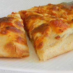 This no-yeast pizza crust recipe is quick and easy to make without the long hours of letting the dough rise and is perfect for a weeknight meal.