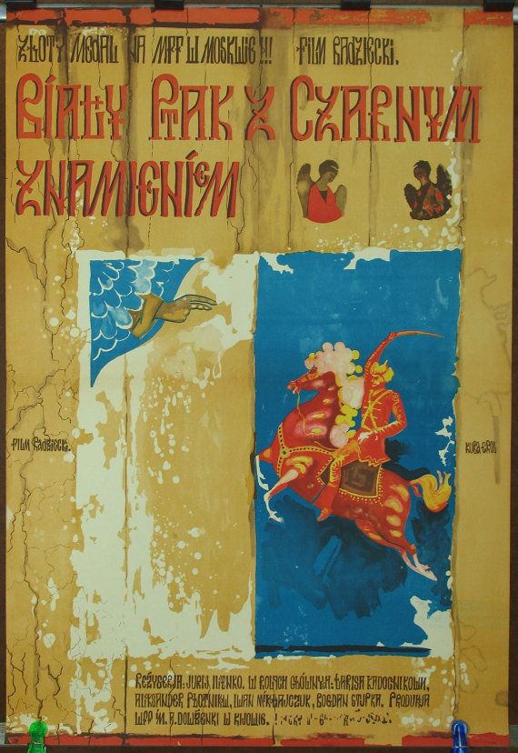 Cinemaposter by USSR Ukraine film The White Bird by artwardrobe