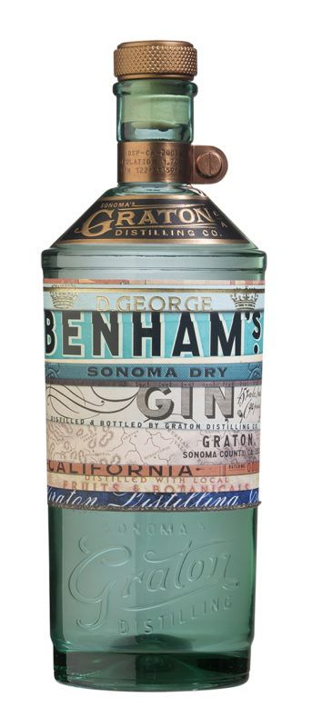 Review: Graton Distilling D. George Benham's Sonoma Dry Gin
