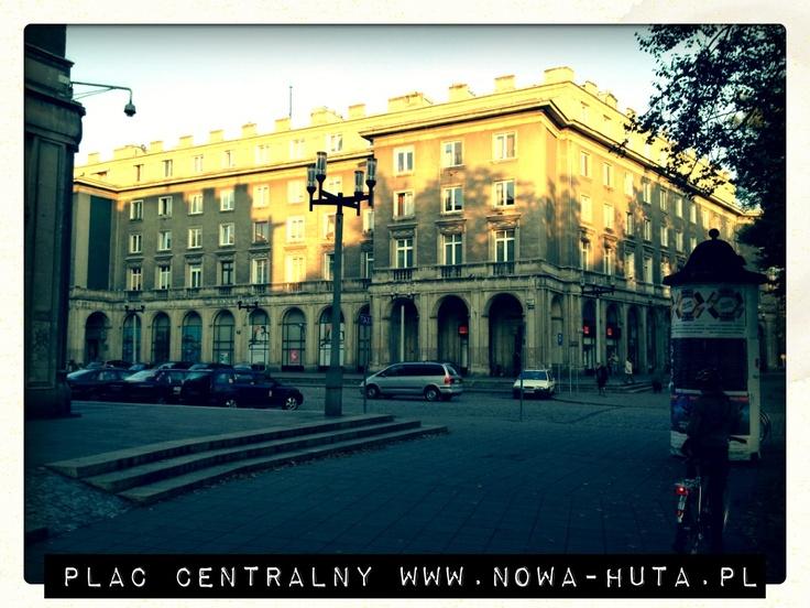 Nowa Huta, Plac Centralny - www.nowa-huta.pl