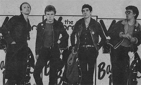 British Punk Bands | The Vibrators - History of Early UK punk rock band. BACKDROP IDEAS?