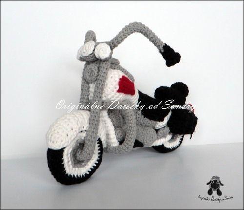motorka HARLEY ... návod