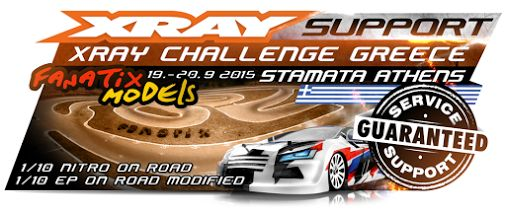 XRAY support at XRAY Challenge Greece