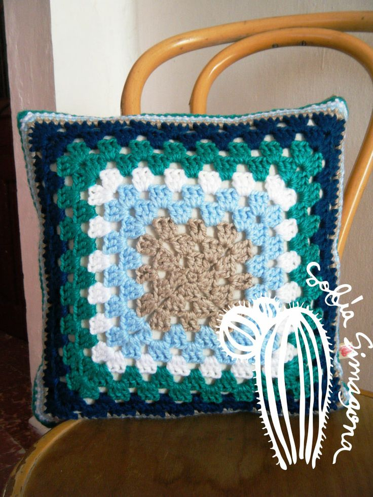 1000 images about cojines tejidos crochet on pinterest - Cojines a crochet ...