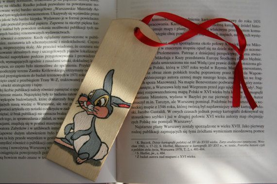 Bookmark with Disney Rabbits from Bambi movie. by FennekArtDesign