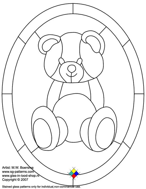 40 best images about bears stained glass on pinterest