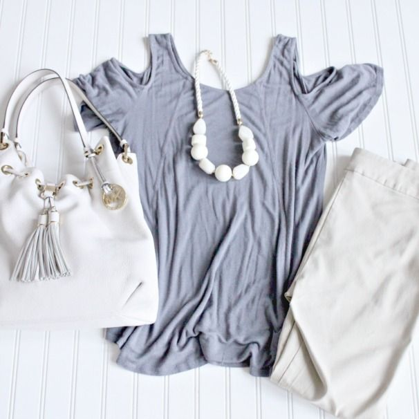 starfish style: grey and khaki