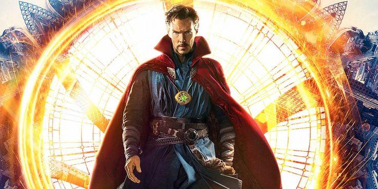 doctor strange trailer poster comic con Doctor Strange Movie Calendar Features New Benedict Cumberbatch Art